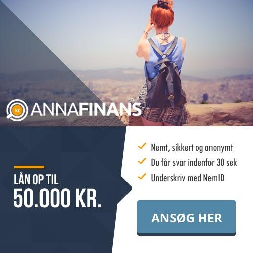 anna finans - nyt dansk lån
